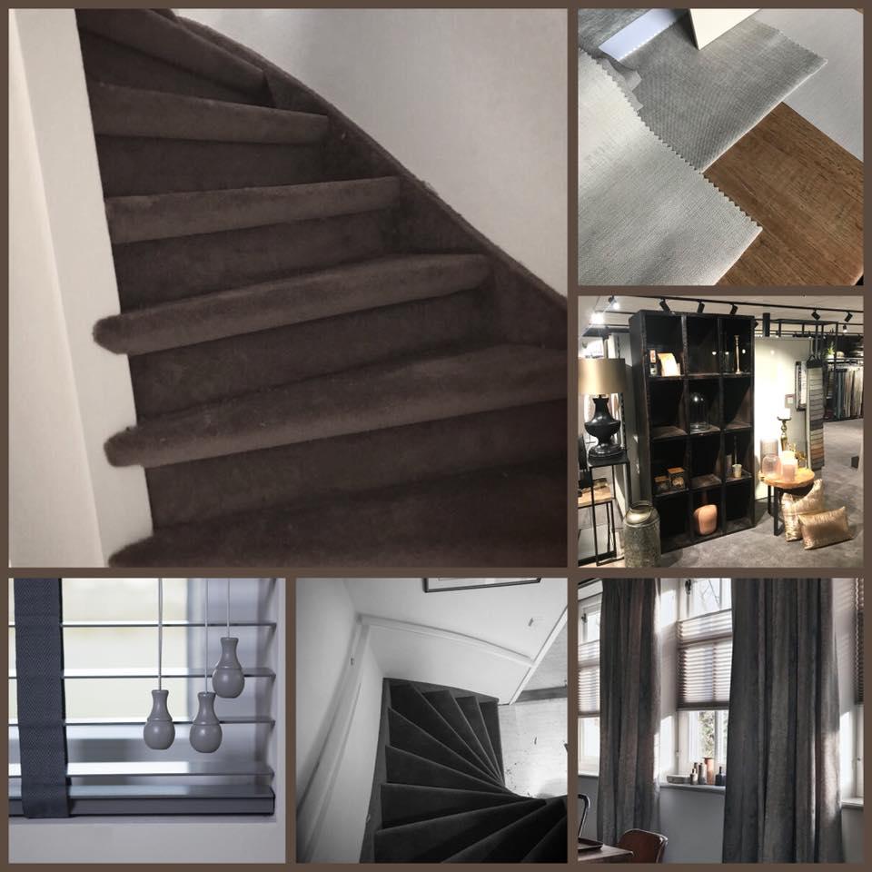 Trapbekleding….. tapijt, pvc of een mooie traploper bij ons is alles mogelijk!…