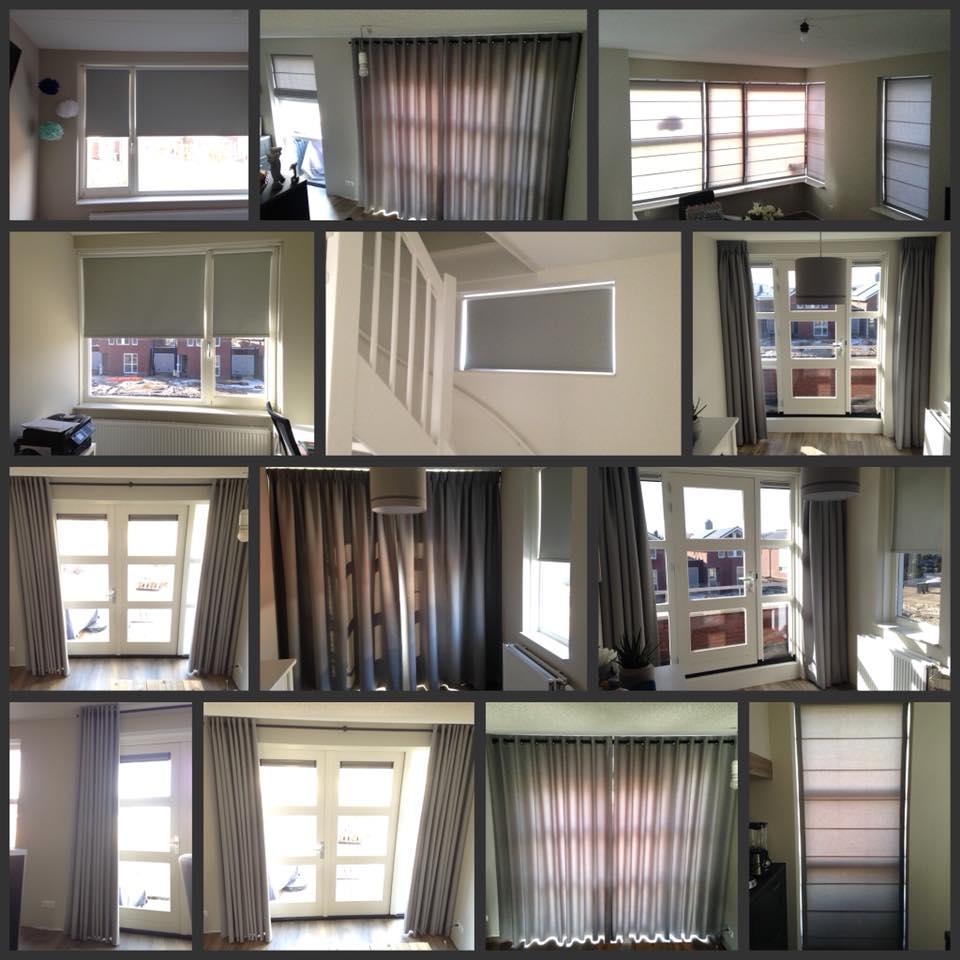 Vandaag hebben we in Borne deze mooie woning voorzien van raamdecoratie.  Zwarte…