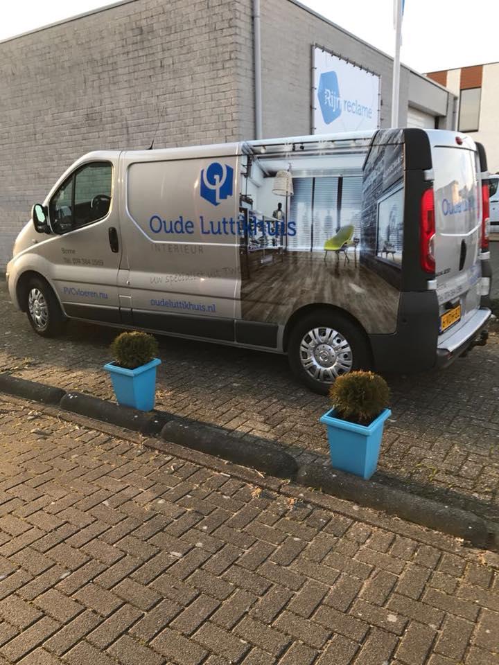 Ook de nieuwe bus is voorzien van ons logo!! Van Rijn Reclame top!! John Poelare…