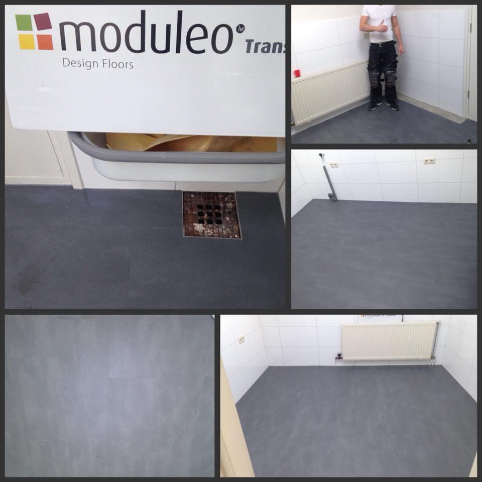 Vandaag hebben we deze prachtige Moduleo grijze tegelvloer opgeleverd. Mooi voor…