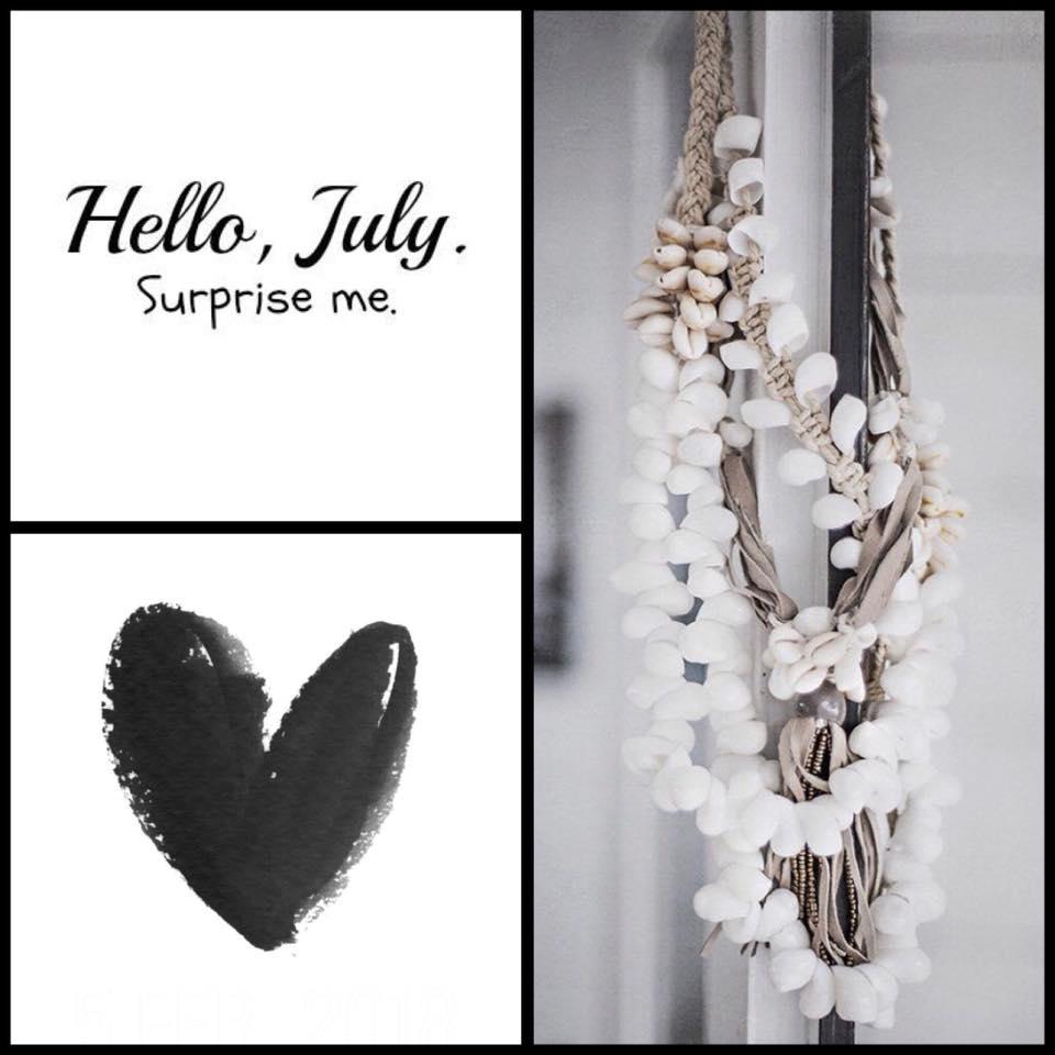 July….  Een nieuwe maand, tijd voor nieuwe woonaccessoires en meubels. Nieuwsg…
