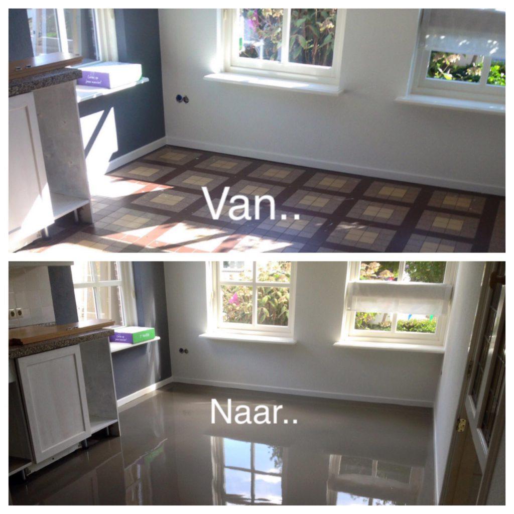 Ook deze notariswoning in Geesteren hebben we in de egaline van UZIN NL Uzin Utz…